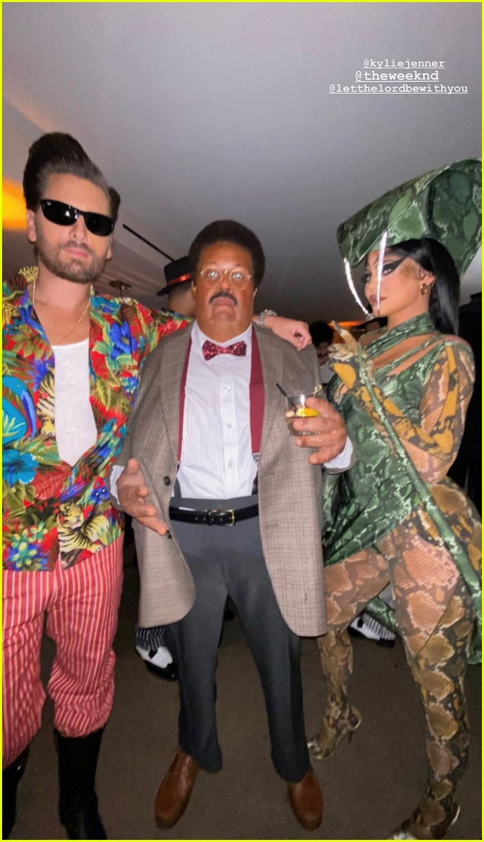 kendall jenner star studded halloween party 04