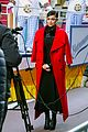 sofia carson pre tapes segment for macys thanksgiving day parade 04