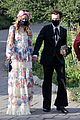 harry styles olivia wilde hold hands while attending managers wedding 45