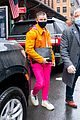 nick jonas colorful outfit out in nyc 05