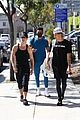 bryce hall nate wyatt tayler holder head to workout together ahead of boxing matches 04