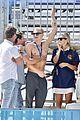 cody simpson marloes stevens aussie swim race pics 05