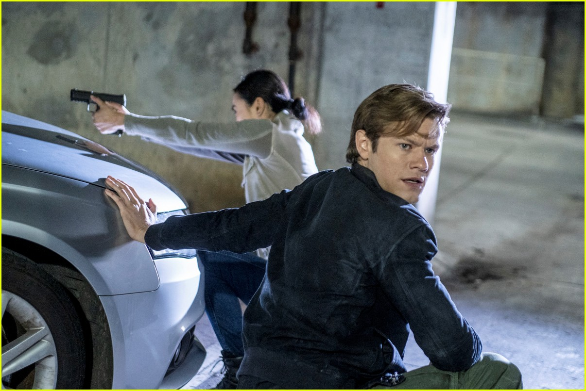 lucas till reacts to the news that macguyver will end after current season 04