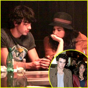 Joe & Kevin Jonas: Double Date with Demi & Danielle