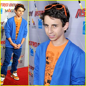 Moises Arias Premieres Astro Boy