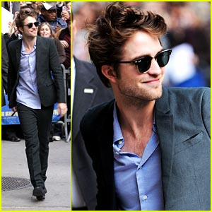 Robert Pattinson is a Block-Buster