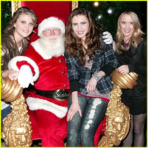 Emily Osment is Santa Claus Cute