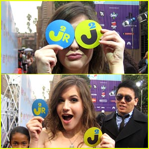 Erin Sanders: Peek-A-Boo at Power of Youth