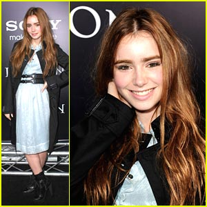 Lily Collins is Legion Lovely