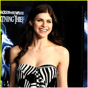 Alexandra Daddario Dreams of Olympus