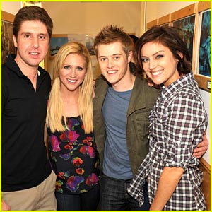 Brittany Snow & Lucas Grabeel Team Up for JED