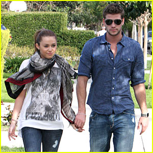Miley Cyrus & Liam Hemsworth: Toluca Lake Love