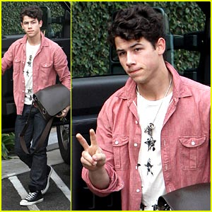 Nick Jonas is West Hollywood Hot