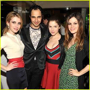 Emma Roberts & Anna Kendrick are Z SPOKE-speople