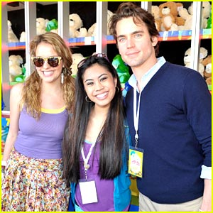 Ashley Argota & Gage Golightly Beam for Matt Bomer