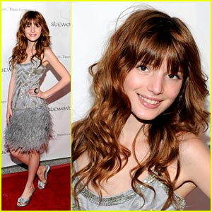 Bella Thorne Sparkles in Sue Wong