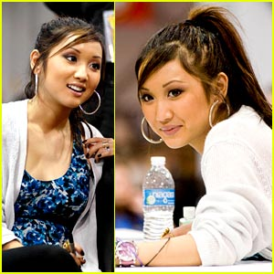 Brenda Song is World of Wheels Wonderful