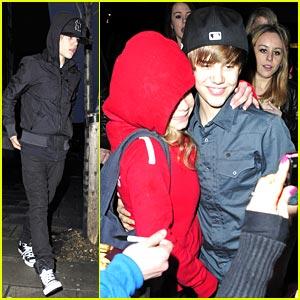 Justin Bieber Leaves London Sleep-Eyed