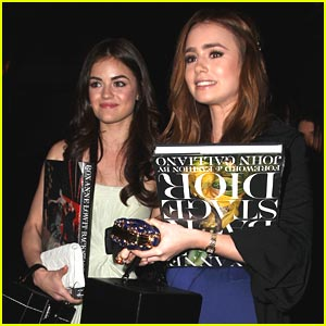 Lily Collins & Lucy Hale are Dior Darlings