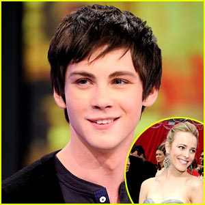 Logan Lerman Crushes on Rachel McAdams