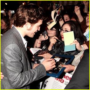 Robert Pattinson Remembers London