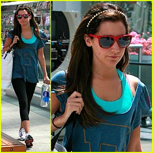 Ashley Tisdale is Fit & Fabulous