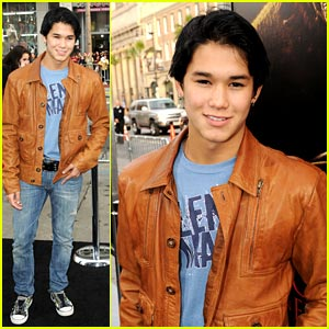 Booboo Stewart has a Nightmare on Elm Street