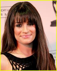 Lea Michele's Brand New Bangs