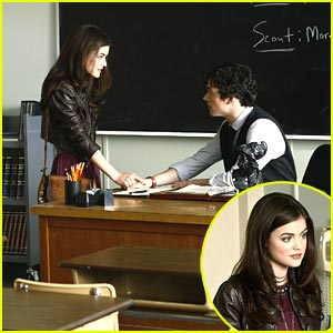 Lucy Hale: New Pretty Little Liar Stills!