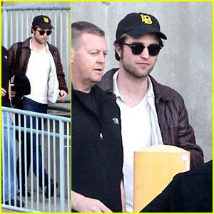 Robert Pattinson is ReShoot Ready