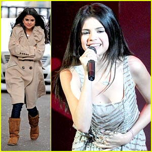 Selena Gomez Gets Loud in London