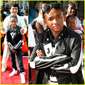 Jaden Smith Premieres The Karate Kid