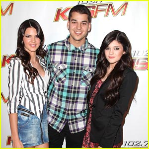 Kylie And Kendall Jenner 2008