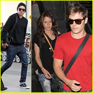 Zac Efron & Amanda Crew: Charlie St. Cloud Couple