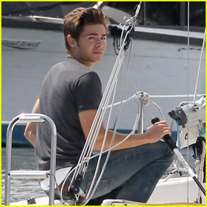 Zac Efron: Come Sail Away!
