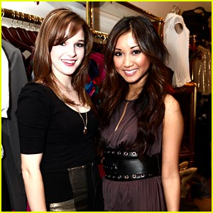 Brenda Song & Kay Panabaker: Foley Friends