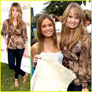 Debby Ryan &#038; Nicole Anderson: Pediatric AIDS Pair