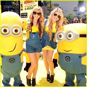 Destinee &#038; Paris Monroe: Minions &#038; Me!