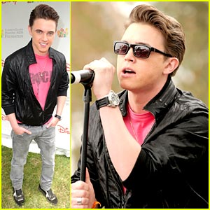 Jesse McCartney: A Time For Heroes Picnic Performer!