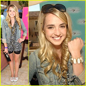 Katelyn Tarver is Park Lane Lovely