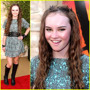 Madeline Carroll Gets Flipped