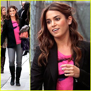 Nikki Reed Packs A Punch