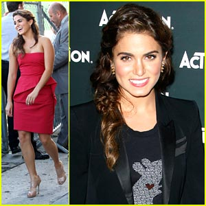 Nikki Reed Paints The Town Red