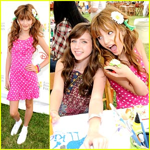 Bella Thorne & Ryan Newman: Pediatric AIDS Awareness!