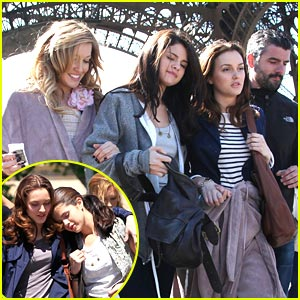Selena Gomez & Leighton Meester: Paris, Part 2