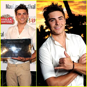 Zac Efron is a Star in Maui
