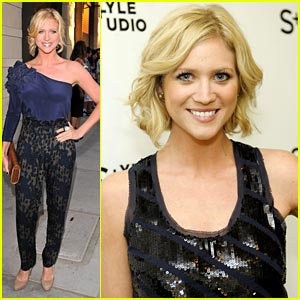 Brittany Snow has a Dark Romance