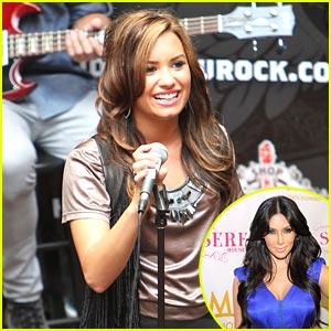 Demi Lovato Loves Kim Kardashian's Style