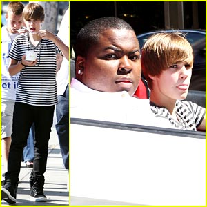 Justin Bieber & Sean Kingston: Lamborghini Lads