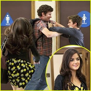 Lucy Hale To The Rescue!